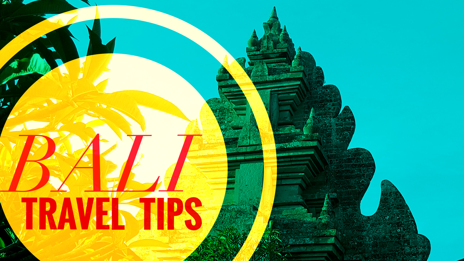 Top Bali Travel Tips for your Holiday