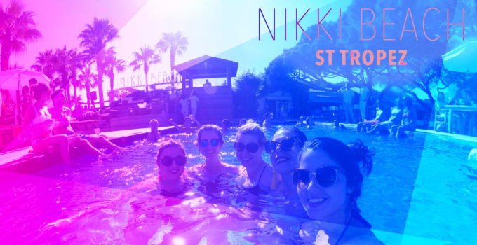 Sunday Brunch at Nikki Beach St. Tropez in the French Riveria