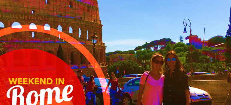 March weekend trip to Rome, Italy: vacation itinerary